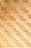 Teça o bambu Imagem de Stock