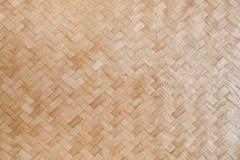 Teça o bambu Imagens de Stock
