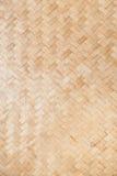 Teça o bambu Foto de Stock Royalty Free