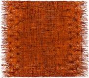 Teça a tapeçaria decorativa desgrenhado listrada grunge com franja ilustração stock