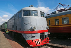 TE-2 locomotive Royalty Free Stock Photos