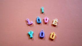 Te amo Foto de archivo
