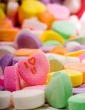 Te amo corazón del caramelo Imagenes de archivo