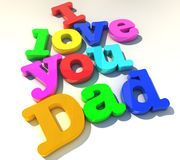 Te amo papá