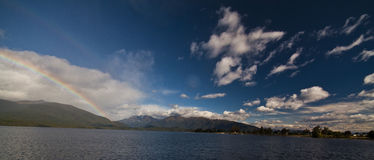 Te Anau foto de stock royalty free