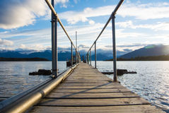 Te Anau Down port to Milford Track Royalty Free Stock Photography