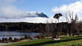 Te Anau Downs at Lake Te Anau Stock Images