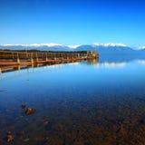 Te Anau Downs, Nieuw Zeeland Stock Foto
