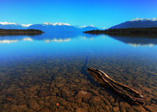 Te Anau Downs Stock Photo