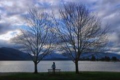 Te Anau Lake Stock Photo