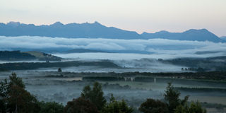 Te Anau sunrise Stock Images
