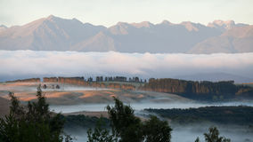 Te Anau sunrise Royalty Free Stock Photography