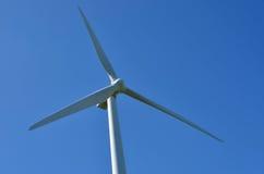 Te Apiti Wind Farm i norr Palmerston, Nya Zeeland Fotografering för Bildbyråer
