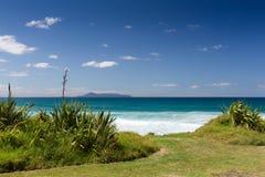 Te Arai Beach Fotografia de Stock