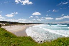 Te Arai Beach Imagens de Stock