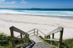 Te Arai Beach Foto de Stock