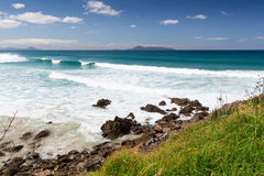 Te Arai Beach. Summer at Te Arai Beach, New Zealand Stock Photography
