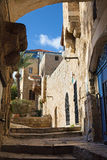 Te Aviv - Little aisle of old Jaffa Stock Photography