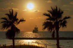 Te; Aviv, non i Caraibi Fotografia Stock