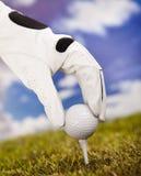 Te de golf Fotografía de archivo libre de regalías