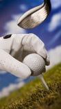 Te de golf Imagen de archivo libre de regalías