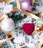 Te herinneren Kerstmis zich - Vakantiegift voor haar royalty-vrije stock fotografie