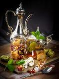 Te i ett exponeringsglas Royaltyfri Bild
