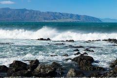 Te Kopahou Reserve Coast Stock Image