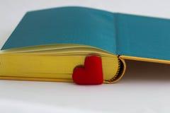 Te lezen liefde Stock Foto