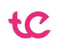 TE Logo Concept. Design. EPS 8 supported Royalty Free Stock Photos