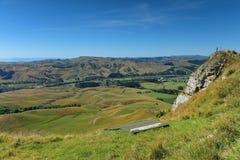 Te Mata Peak et paysage environnant dans Hastings, Nouvelle-Z?lande photo libre de droits