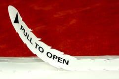 Te openen trekkracht Royalty-vrije Stock Fotografie