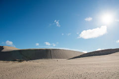 Te Paki sand dunes, New Zealand Royalty Free Stock Photo