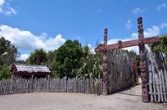 Te Parapara Garden en Hamilton Gardens - Nueva Zelanda Foto de archivo