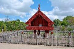 Te Parapara Garden i Hamilton Gardens - Nya Zeeland royaltyfri bild