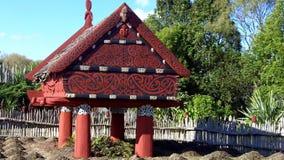 Te Parapara Maori garden in Hamilton Gardens, New Zealand stock video