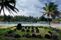Te-Poaki-O-Rae in Aitutaki Lagoon Cook Islands stock images