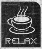 Tea relax royalty free illustration