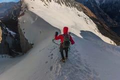 On te ridge Royalty Free Stock Photos