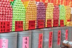 Te shoppar i Taipei, Taiwan Arkivfoton
