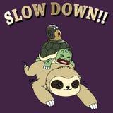 Te snel!! Stock Fotografie