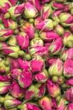 Te steg blommabakgrund Royaltyfria Bilder
