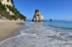 Te Whanganui-A-Hei (Cathedral Cove) Marine Reserve. Te Hoho Rock in Te Whanganui-A-Hei (Cathedral Cove) Marine Reserve in Coromandel Peninsula North Island, New Stock Image