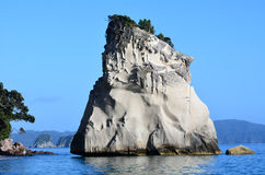 Te Whanganui-A-Hei (Cathedral Cove) Marine Reserve. Te Hoho Rock in Te Whanganui-A-Hei (Cathedral Cove) Marine Reserve in Coromandel Peninsula North Island, New Royalty Free Stock Images