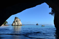 Te Whanganui-A-Hei (Cathedral Cove) Marine Reserve Royalty Free Stock Photography