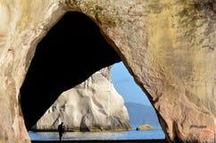 Te Whanganui-A-Hei (Cathedral Cove) Marine Reserve Stock Photography