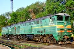 TE10 diesel-electric locomotive Stock Photos