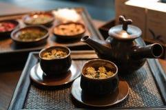 tea royaltyfri bild