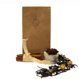 Tea. Natural organic tea with rose petals and spices Stock Images