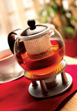 Tea. A pot of brewed tea to enjoy Stock Photo